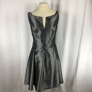 Jones Wear Dresses - Joneswear Grey Formal Dress sz 16